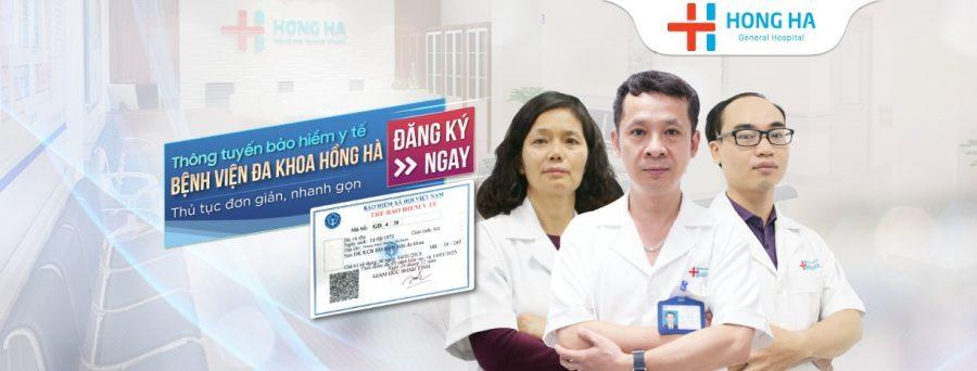 Chế độ sử dụng bảo hiểm y tế tại Hồng Hà