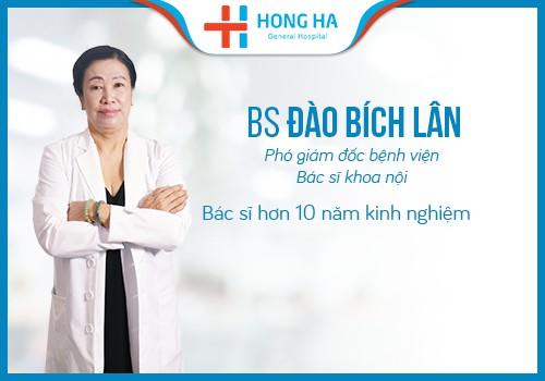 Bác sĩ Lân phó giám đốc bệnh viện