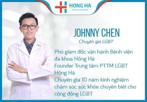 chuyên gia LGBT Johnny chen