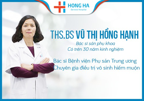 bác sĩ hạnh trưởng khoa sản phụ khoa bệnh viện
