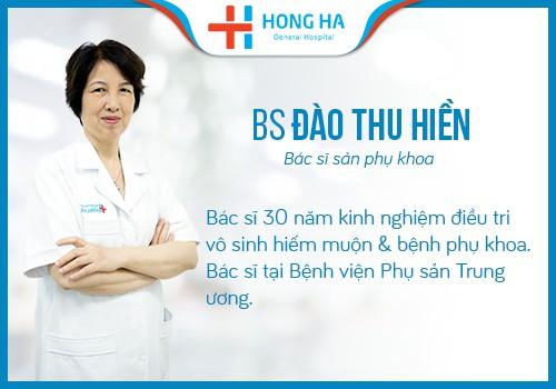 bác sĩ sản phụ khoa Đào thu hiền