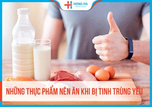 Thực phẩm cải thiện tình trạng tinh trùng yếu