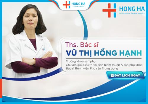 chi phí bơm tinh trùng vào buồng tử cung tại Hồng Hà
