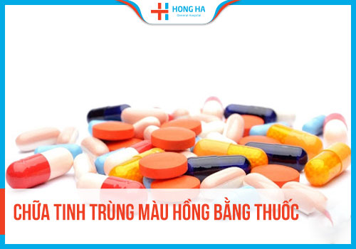 Thuốc chữa trị tinh trùng có màu lạ