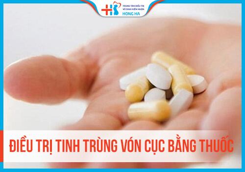 Điều trị tinh trùng vón cục bằng thuốc