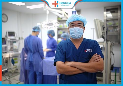 giới thiệu phòng mổ tại bệnh viện Hồng Hà