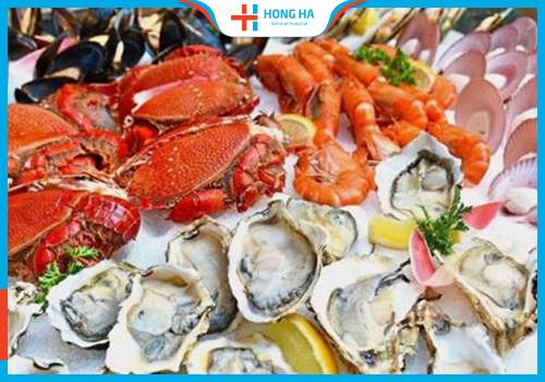 Ăn hải sản giúp điều trị loãng tinh trùng