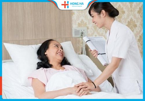 Chăm sóc người bệnh sau mổ u nang buồng trứng