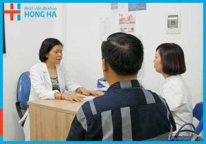 Khoa nội tại Bệnh viện Đa khoa Hồng Hà