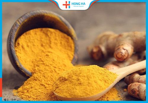 Nghệ vàng giúp điều trị u nang buồng trứng