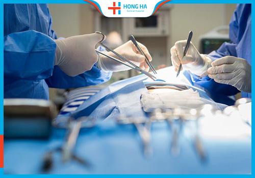 Phẫu thuật u nang nhầy buồng trứng