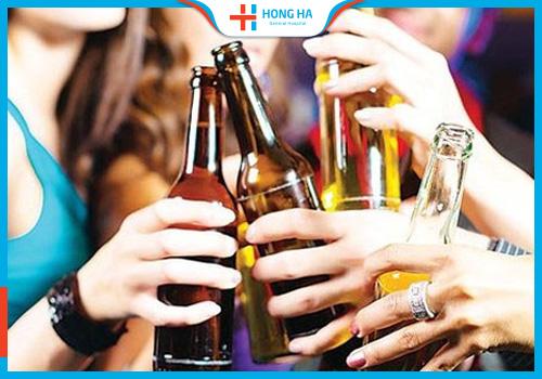 Rượu bia gây dị dạng tinh trùng