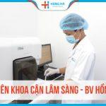 Chuyên khoa Cận Lâm Sàng Bệnh viện Đa khoa Hồng Hà