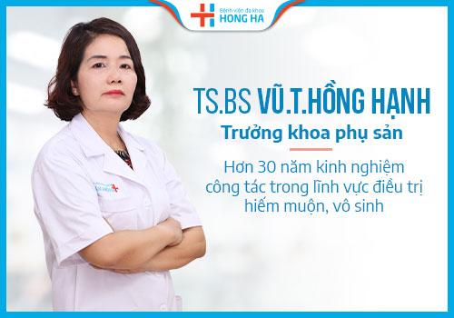 Trưởng khoa phụ sản bệnh viện hồng hà
