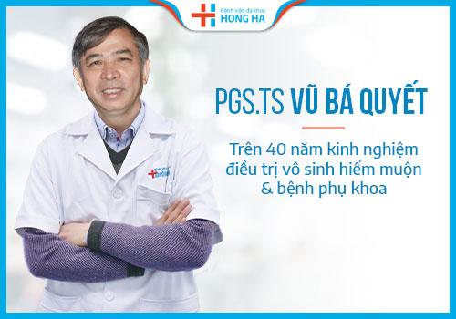 Bác sĩ khoa phụ sản bệnh viện hồng hà
