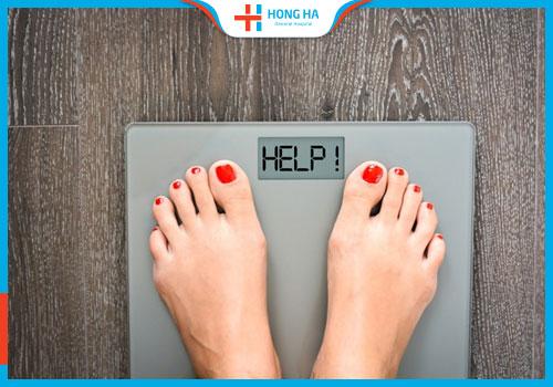 cân nặng thay đổi