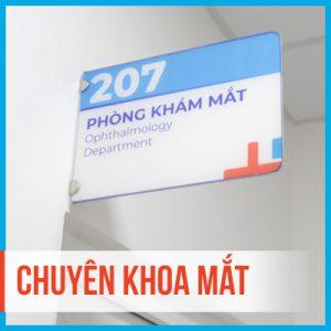 Chuyên khoa Mắt – Bệnh viện Đa khoa Hồng Hà