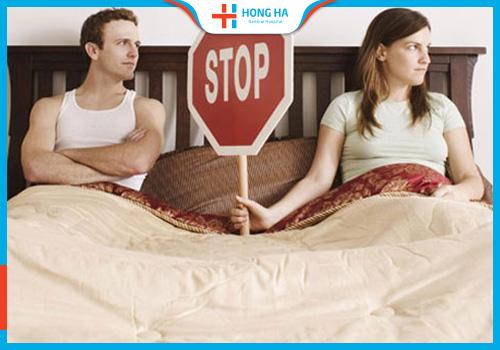 kiêng quan hệ sau đốt viêm lộ tuyến