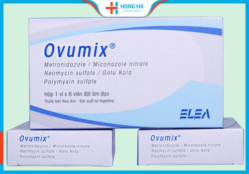 thuốc chữa viêm lộ tuyến cổ tử cung oumix