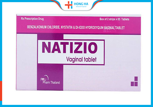 thuốc đặt viêm cổ tử cung natizio