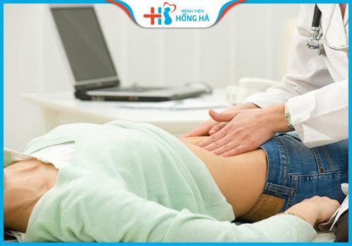 nang đơn thùy buồng trứng trái khi mang thai
