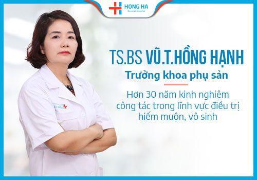 khám vô sinh nữ ở Hà Nội