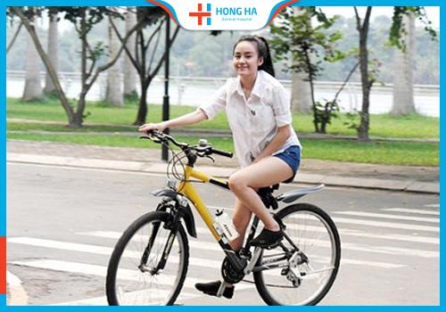 Nữ giới đạp xe ảnh hưởng đến sinh sản không