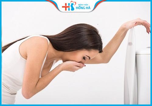 triệu chứng vỡ u nang buồng trứng
