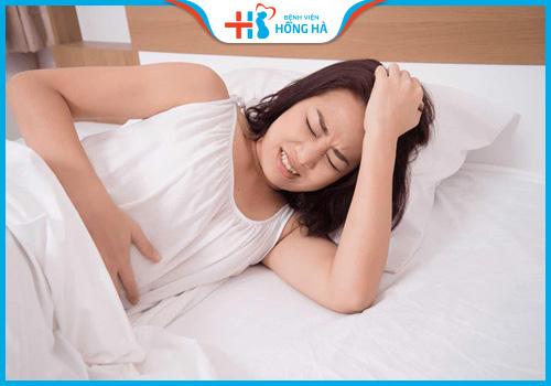 đau bụng kinh có bị vô sinh không