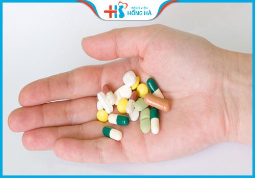 thuốc đau bụng kinh và sinh sản