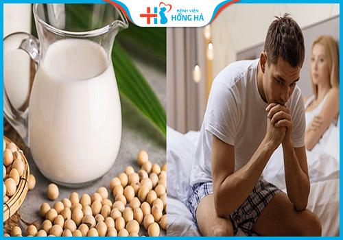 uống sữa đậu nành có bị vô sinh không
