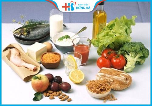 chế độ dinh dưỡng lành mạnh