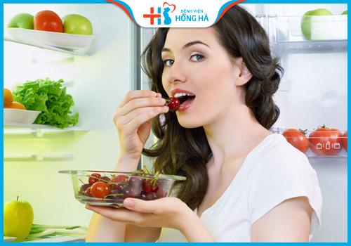 ăn uống khoa học giúp điều hòa kinh nguyệt