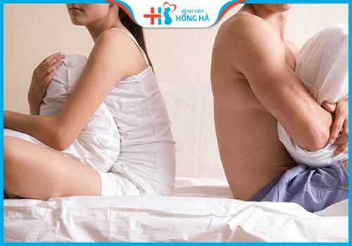 kiêng quan hệ khi điều trị viêm lộ tuyến