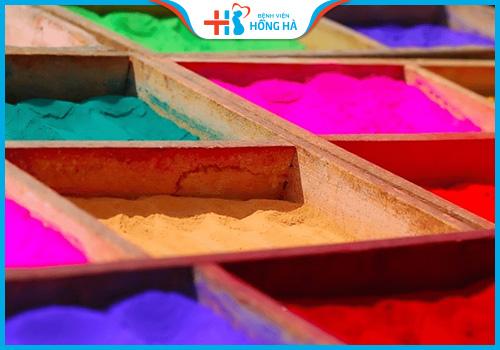 mực in dạng bột chứa nhiều chì có khả năng gây vô sinh