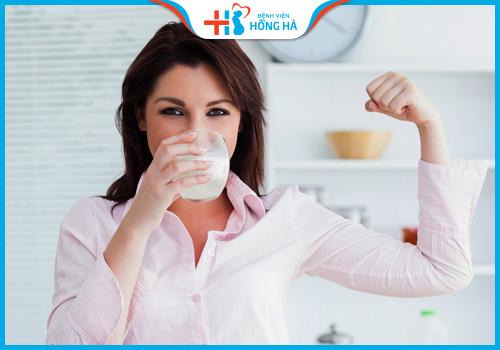 phụ nữ uống sữa fami có gây vô sinh không