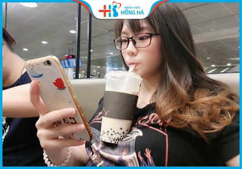nghiện trà sữa gây vô sinh