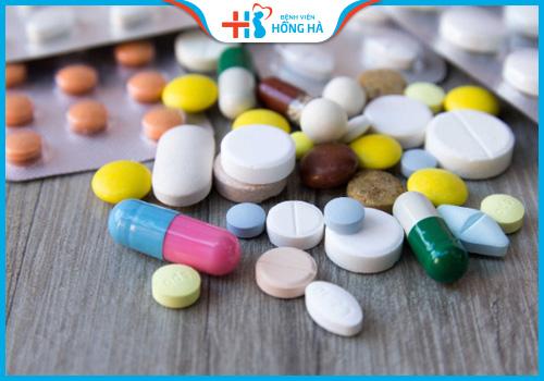 thuốc kháng viêm chữa rối loạn kinh nguyệt