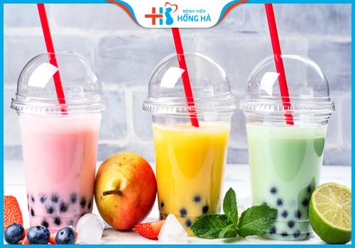 uống trà sữa không hại cho sức khỏe