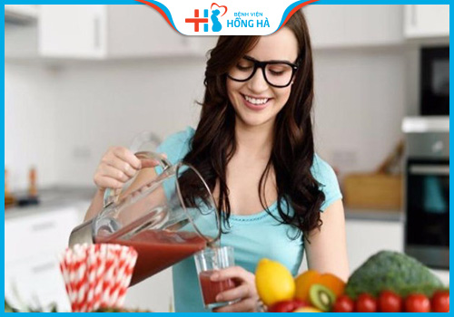 viêm lộ tuyến cổ tử cung nên thực hiện ăn uống đủ bữa