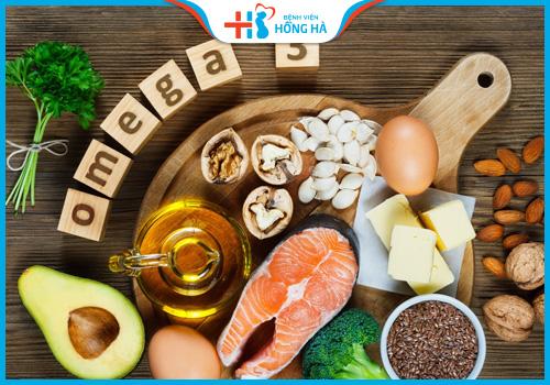 viêm lộ tuyến cổ tử cung nên bổ sung omega3
