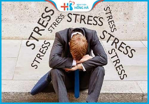 nguyên nhân vô sinh nam stress