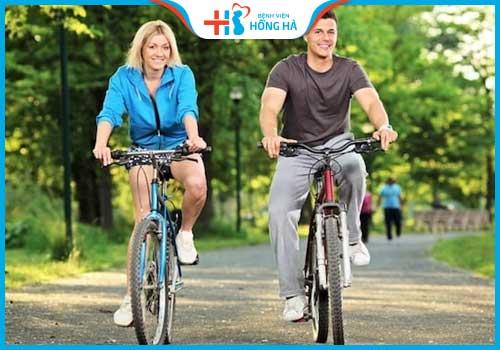 đạp xe nhiều gây vô sinh phòng tiểu đường