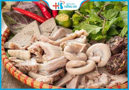 thực phẩm gây vô sinh ở nữ giới nội tạng động vật