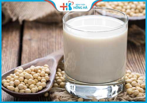 thực phẩm gây vô sinh ở nam giới sữa đậu nành