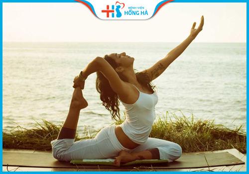 tập yoga có bị vô sinh không
