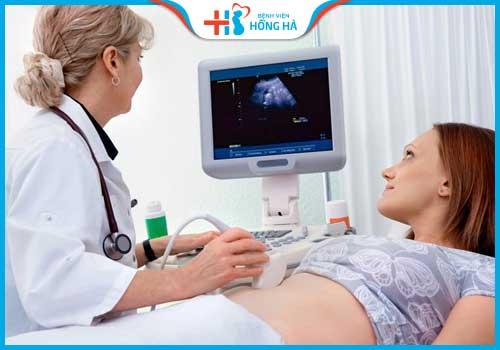 cách tính ngày thụ thai khi kinh nguyệt không đều siêu âm