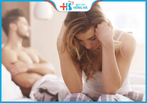 bị viêm lộ tuyến cổ tử cung rộng đau khi quan hệ