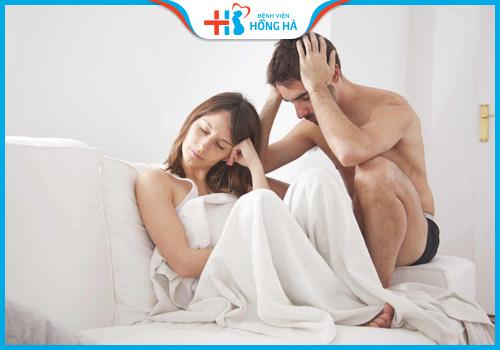 dấu hiệu tắc vòi trứng đau rát khi quan hệ