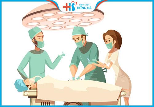 điều trị vô sinh phẫu thuật